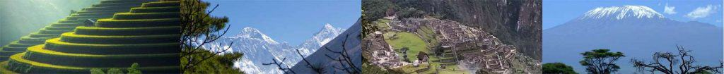 Thailand-Everest-MachuPicchu-Kilimanjaro