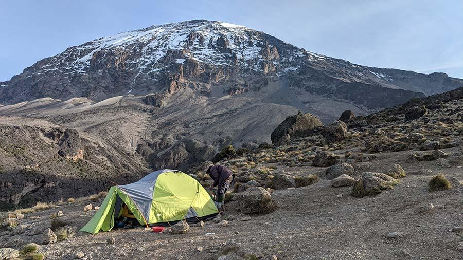 Kilimanjaro and Tent